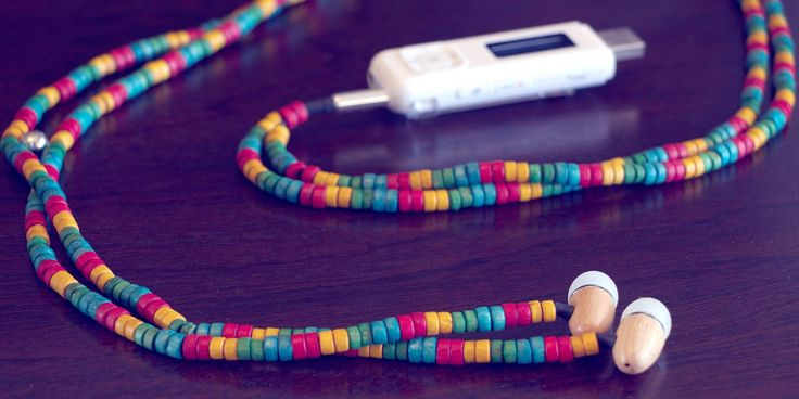 Ethnikboma Hand Crafted Earphones by Urban Natural www.pinterest.com/ naturalyurban available at www.urbannatural.co.za