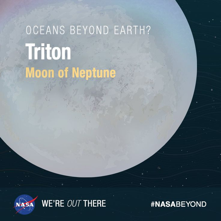 Triton is the largest of Neptune's 13 moons. It is the ...