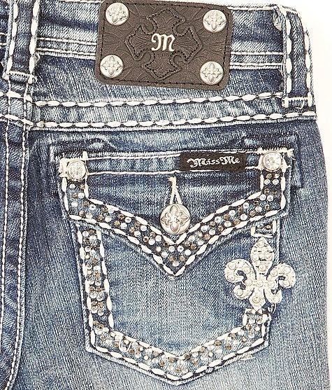 Girls-Miss Me Boot Jean #buckle #fashion www.buckle.com