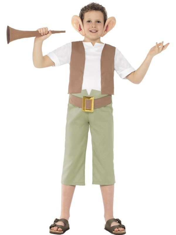 Shop for Official Roald Dahl BFG Character Costume at Totally Fancy. This Big Friendly Giant Children's costume is great for Roald Dahl Day and World Book Day. Many More Roald Dahl & World Book Day Costumes available.