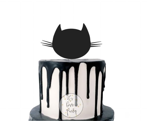 Kitty party, cat party, cat cake topper, kitten cake, hello kitty party, cat cake, kitty cake, kitty cupcake toppers, monochrome party, black and white decorations, modern kids party