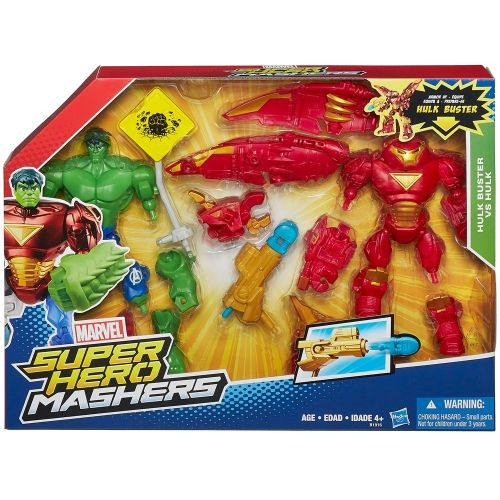 Marvel Super Hero Mashers Battle Pack - Hulkbuster v Hulk