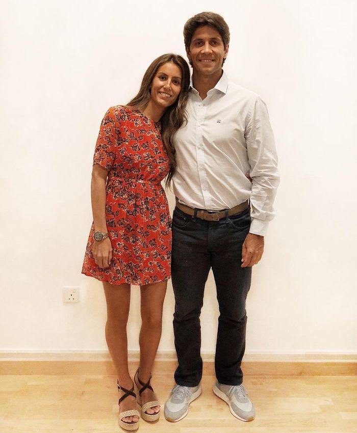 Ana Boyer y Fernando Verdasco comienzan su vida de casados en Doha