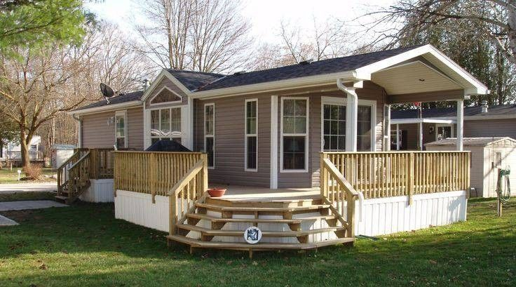 45 Great Manufactured Home Porch Designs Mobile Home Living For
