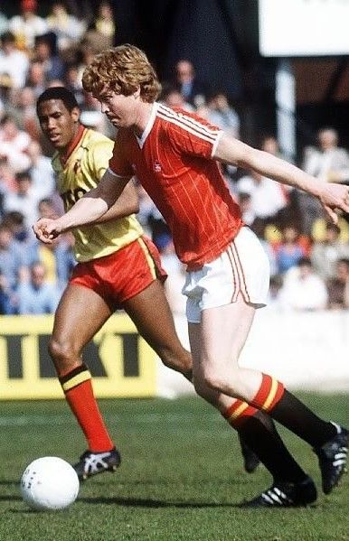 Willie Young Nottingham Forest 1981