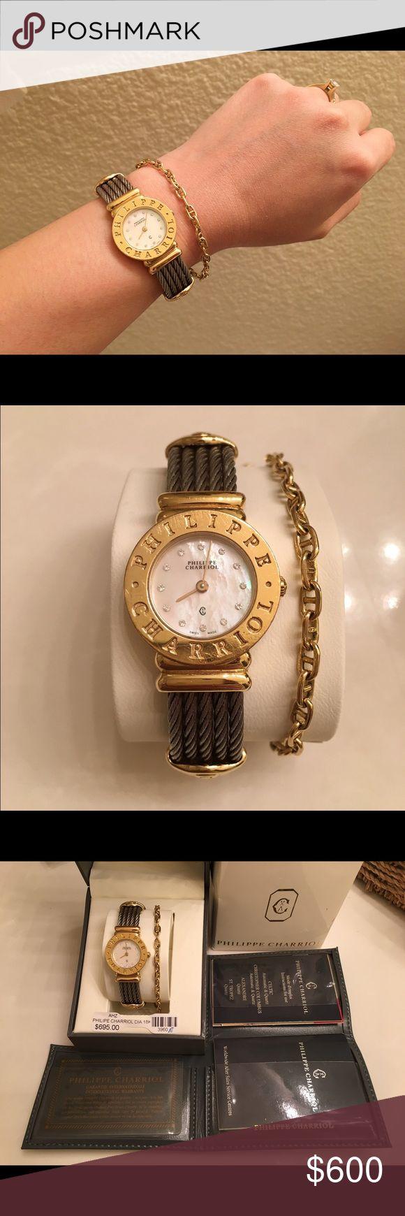 Charriol watch Philippe Charriol St Tropez charriol Accessories Watches