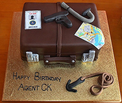 Briefcases Phones And Cakes On Pinterest