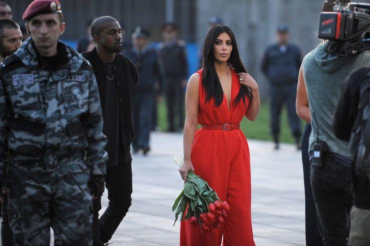 Kim Kardashian Is Having a Glorious Adventure in Armenia  - ELLE.com