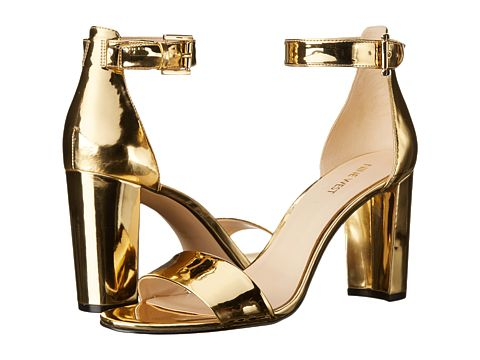 Nine West Nora Gold Synthetic - Zappos.com Free Shipping BOTH Ways