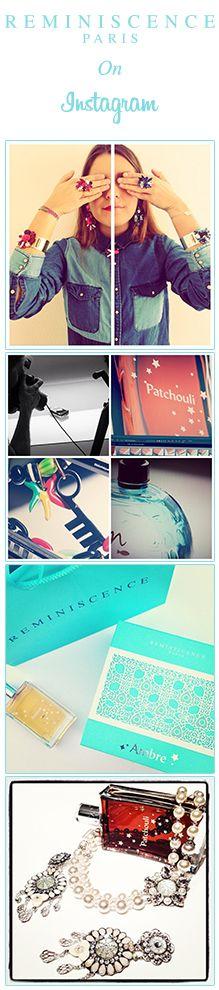 Reminiscence Paris sur Instagram