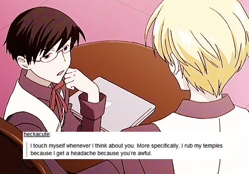 This is too amusing...   why was this not an actual line in the series, but no seriously.