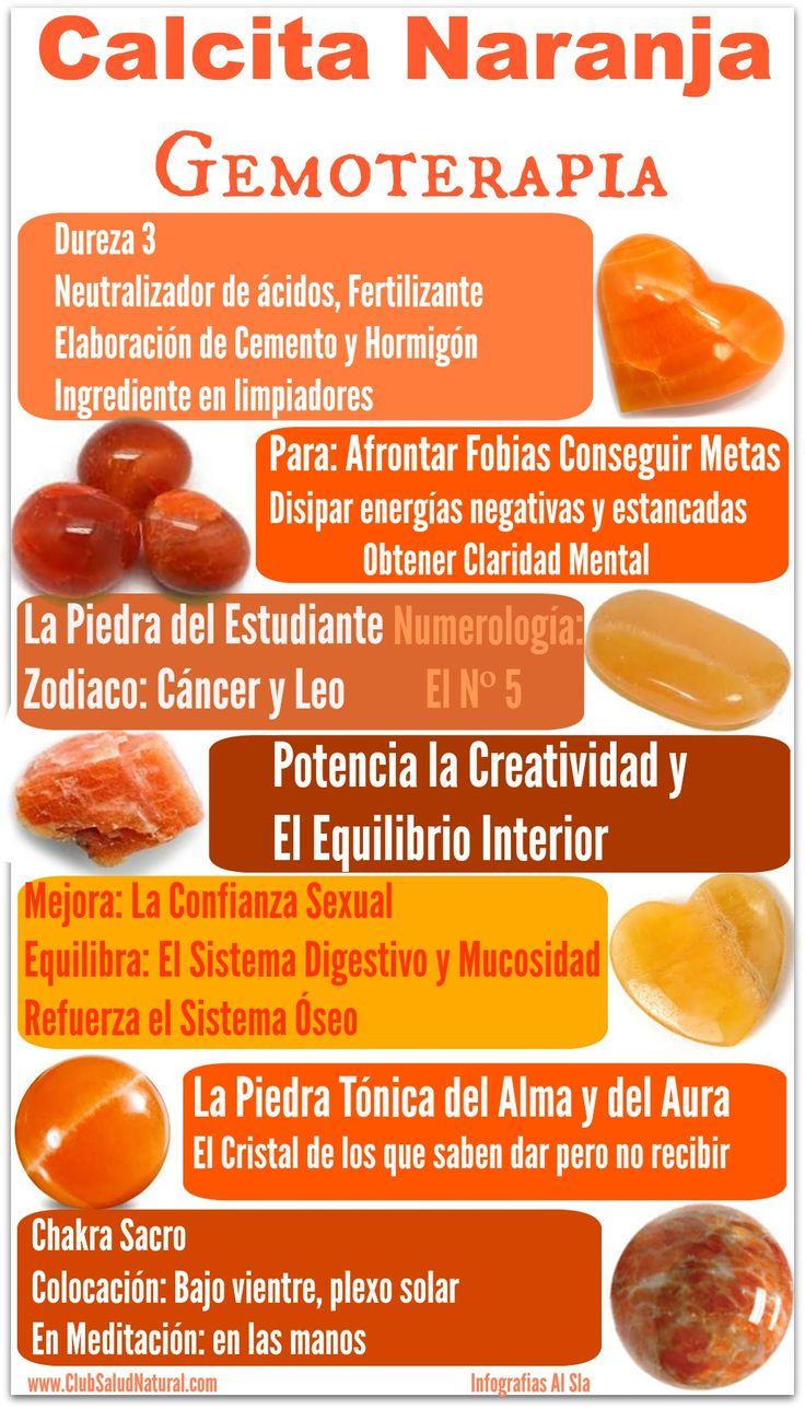 Calcita Naranja Gemoterapia – Club Salud Natural