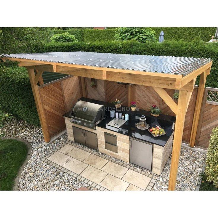 45 Creative DIY Outdoor Kitchen Design Ideas