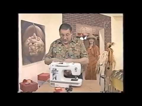 Puntos y Puntadas 60. Técnicas de costura. Uso del ruloté. Hermenegildo Zampar. - YouTube