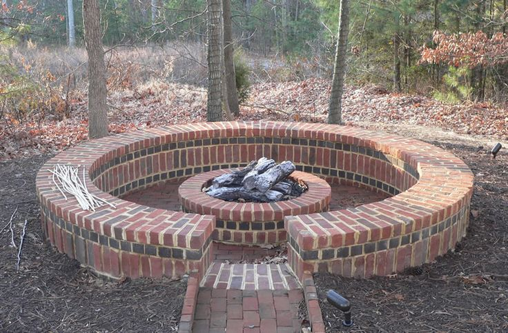 10 best images about bricks for fire pits on pinterest for What kind of bricks for fire pit