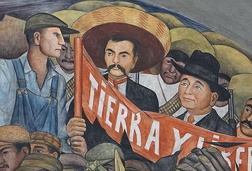 1000 images about dia de la revolucion mexicana 20 de nov for Emiliano zapata mural