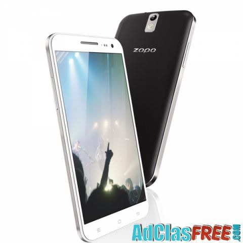 unlocked cellphone 5.5 inch screen white