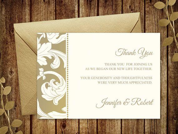 11 best Wedding Invitation Templates \ - microsoft word thank you card template
