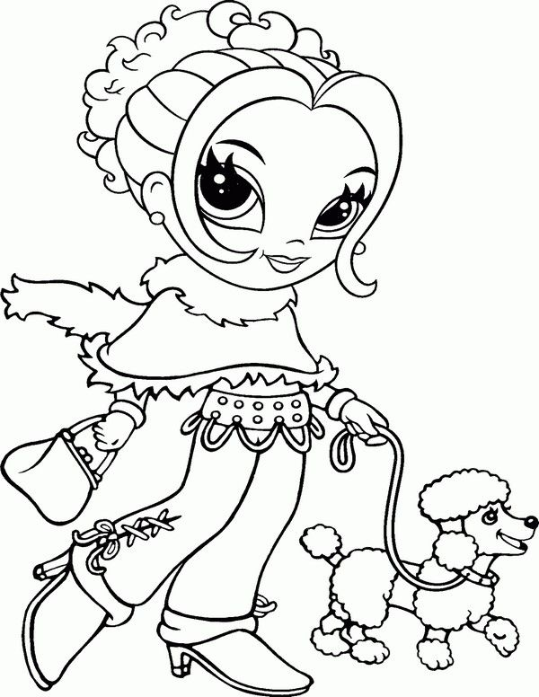 Lisa Frank Coloring Pages 17
