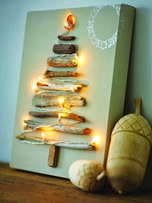 42 Christmas tree ideas from log and branches   My desired home