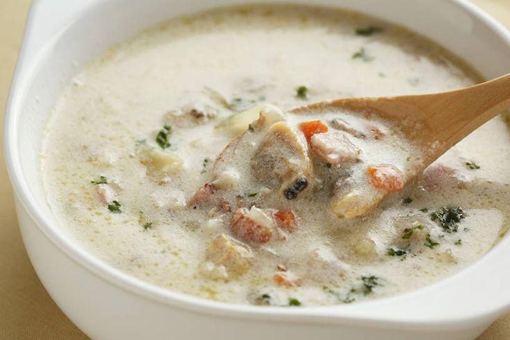 魚のプロに聞いた!「あさりのクラムチャウダー」で旨味を最大限に引き出すコツ - macaroni