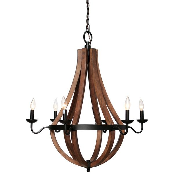 Add Style And Sophistication To Your Home With This Oil Rubbed Bronze Chandelier From Vineyard