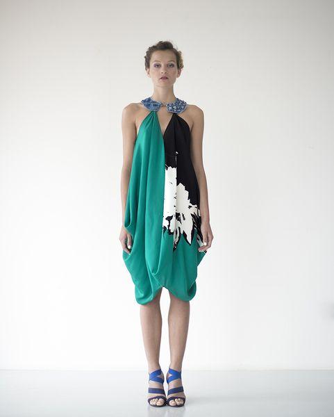 abito drappeggiato di MissB by Barbara Pinda su DaWanda.com
