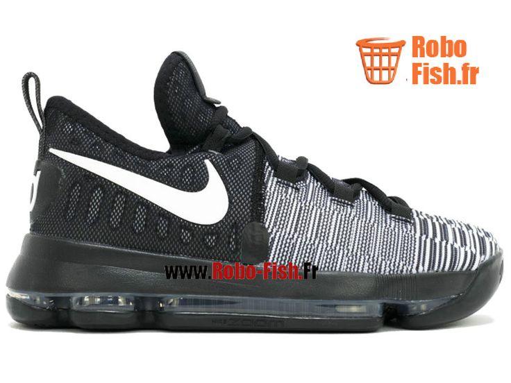 """Nike Zoom Kd 9 (Gs) """"Mic Drop"""" - Chaussure de Basket-ball Pas Cher pour Femme 855908-010"""