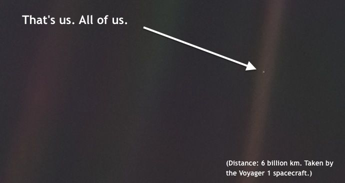 voyager 1 view of earth - photo #14