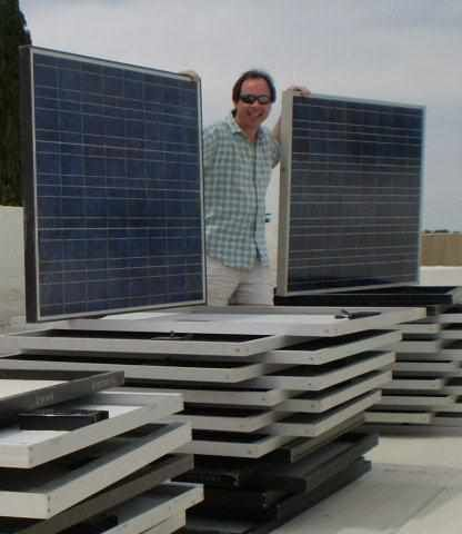 how to make solar panels at home pdf
