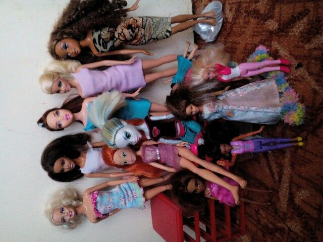 Moje zbírka barbie