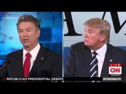 Rand Paul has Always Been against the Iraq War   CNN GOP Debate - YouTube