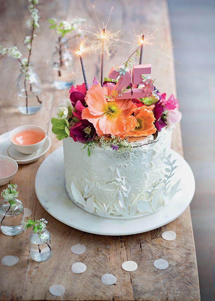 les 25 meilleures idées de la catégorie fleurs fraîches gâteau de