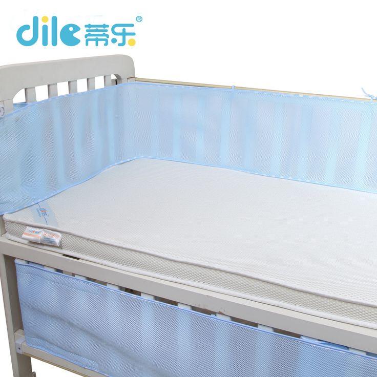Deleベビーベッドバンパーベビーベッドバンパー夏通気性子供寝具セット幼児寝具セット3d寝具セットベビーベッドバンパー