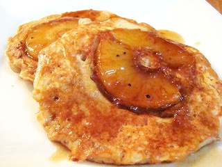 Krista's Kitchen: Pineapple Upside-Down Cakes-Wow! (more of an upside-down pancake)!