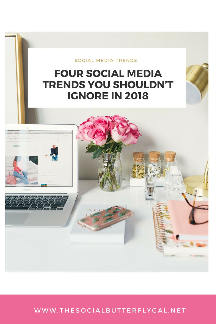 Social Media spending in the U.S alone is expected to increase to $17.34 billion in 2018. Here are four social media trends you shouldn't ignore in 2018.