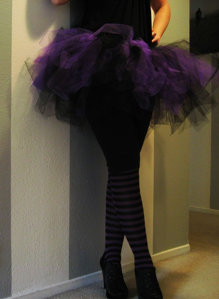 Witch Costume Adult Tutu Tutorial - Just want to make it longer
