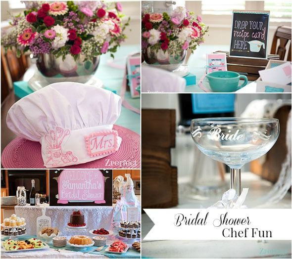 Cooking theme bridal shower more bridal showers and for Chef themed kitchen ideas