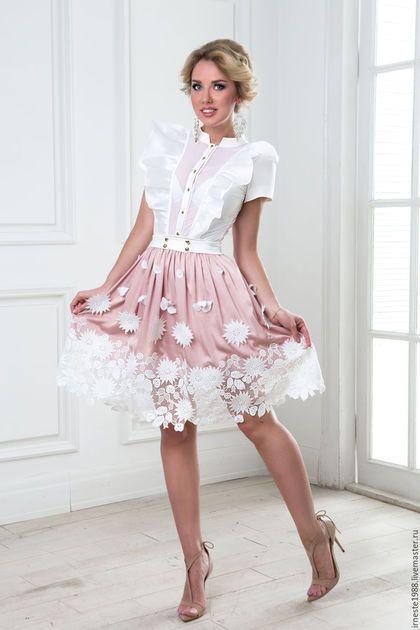 """Silk skirt / Юбки ручной работы. Ярмарка Мастеров - ручная работа. Купить Шёлковая юбка """"Кэти"""". Handmade. Шелковая юбка, летняя юбка"""