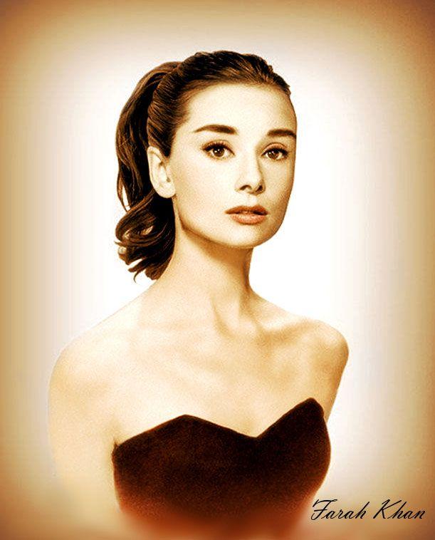 Audrey Hepburn - Portrait 5 by farahkhan on DeviantArt