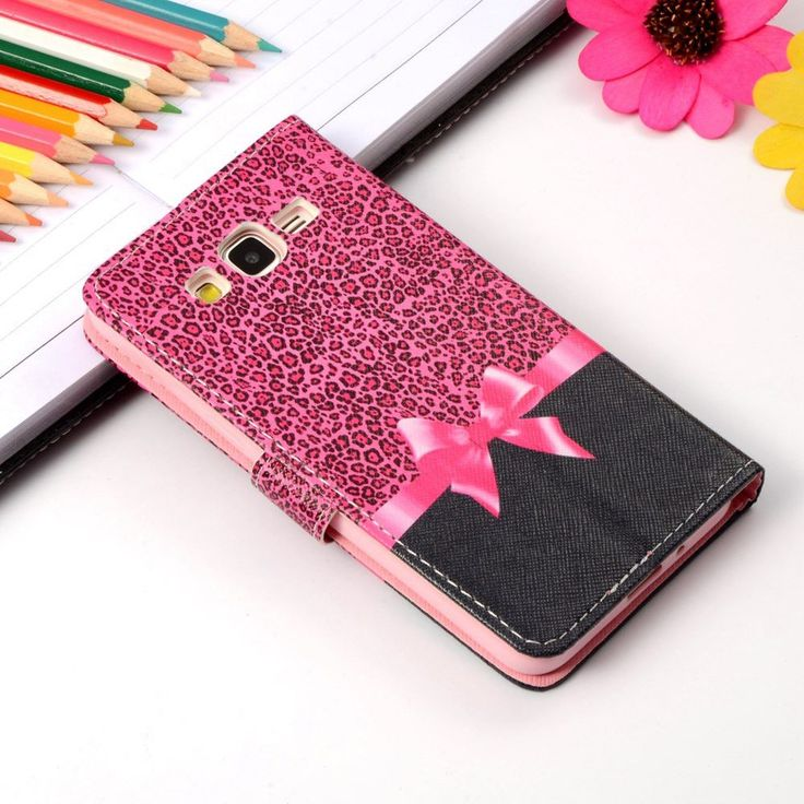 Cartoon Printing Wallet Leather Case For Samsung Galaxy Grand Prime G530 G5306 G530H G531H G531F G5308W Magnetic Cover Phone Bag