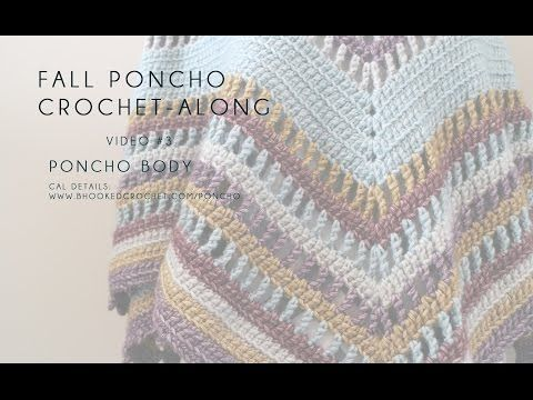 Fall Poncho Crochet Along - B.hooked Crochet
