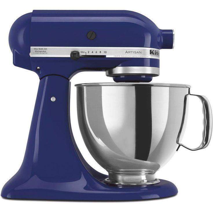 Kitchenaid artisan 5 qt 10speed cobalt blue stand mixer