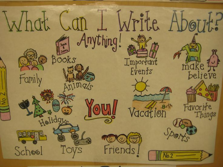 Cute Anchor chart