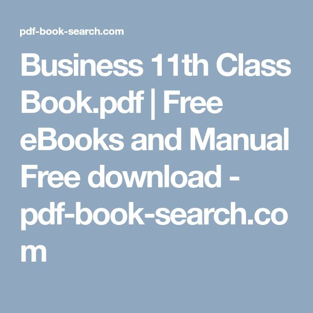 Business 11th Class Book Pdf Free Ebooks And Manual Free Download