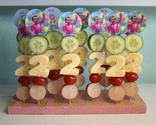 Gezonde traktatie: Verjaardagsspies | Healthy treats