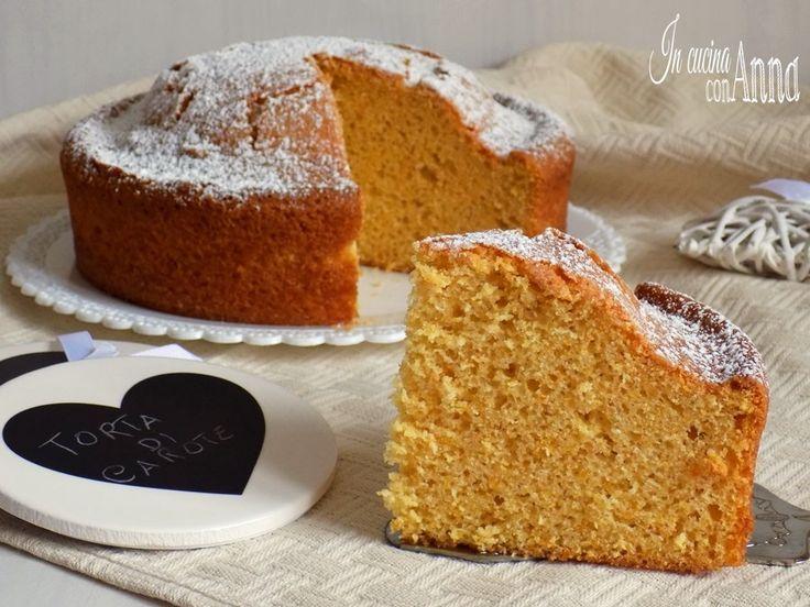 Questa torta di carote è semplicissima,semplice e buona buona,un dolce che conquista tutti al primo assaggio...