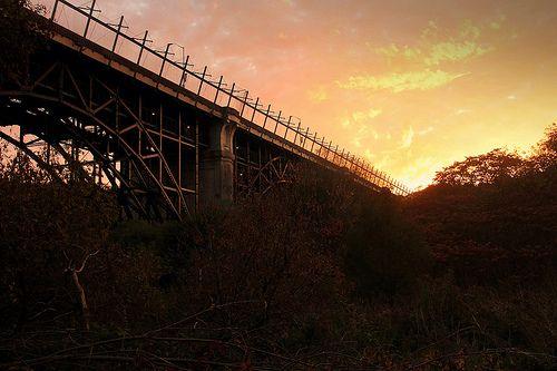 Bloor Viaduct Sunset
