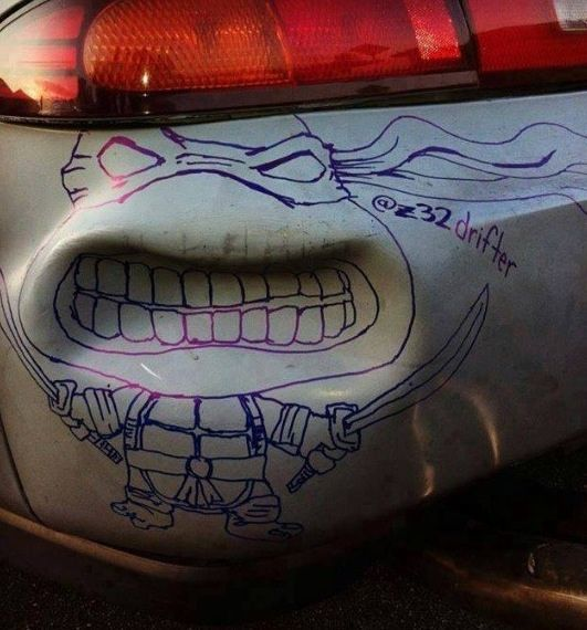 Wie man eine Delle im Auto mit einem Filzstift repariert
