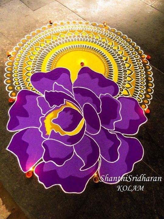 #mandala#violet#